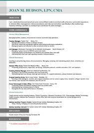resume examples sample resumes for career change sample resumes   resume examples career change resume sample for objective work experience in clinical office management