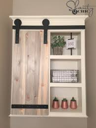 bathroom diy ideas. Wonderful Bathroom DIY Bathroom Decor Ideas  Sliding Barn Door Cabinet Cool Do  It Yourself With Diy A