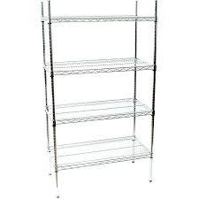 chrome shelf rack wire