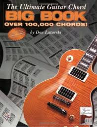 Ultimate Guitar Chord Chart Details About Ultimate Guitar Chord Big Book Over 100 000 Chords By Don Latarski