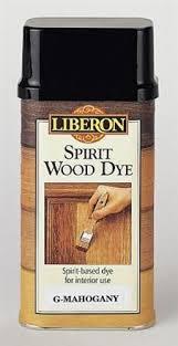 Spirit Wood Dye Liberon Provides A Wide Range Of Wood