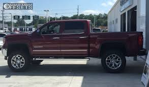 gmc trucks lifted 2015. 1 2015 sierra 1500 gmc suspension lift 6 oem chrome aggressive outside fender trucks lifted