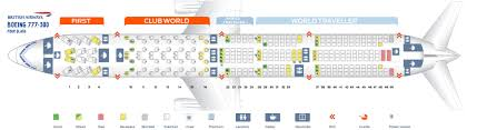 Seat Map Boeing 777 300 British Airways Best Seats In Plane