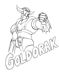 Coloriages Imprimer Goldorak Super H Ros Dessins Manga