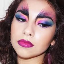bird inspired makeup