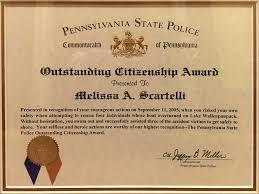 Scartelli Citizenship Award Pennsylvania Injury Lawyers