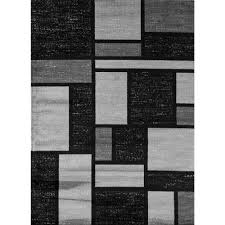 this review is from contemporary modern boxes design gray 3 ft x 5 ft indoor area rug