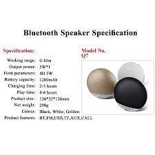 Loa Bluetooth Mini Kisonli Q7 ( Màu Ngẫu Nhiên) - HÀNG CHÍNH HÃNG