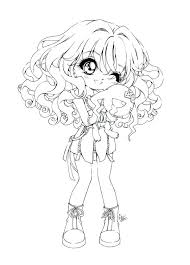 Cute Anime Coloring Pages Cartoon Girl Coloring Pages Cartoon Girl