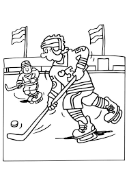 Small Picture Download Hockey Coloring Pages Printable Or Print Hockey Coloring