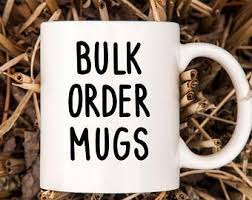 2016 promotional mug wholesale bulk coffee mug with insert paper. Bulk Coffee Mugs Etsy