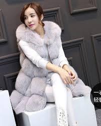 sleeve removable 2019 winter women s luxurious faux fur coat socialite thick warm leather jacket parkas top