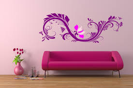 Wall Decoration For Living Room Purple Living Room Wall Decals Living Room Wall Decor