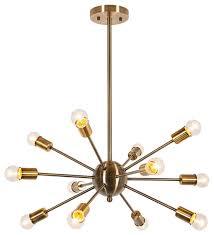 apriori chandelier brass