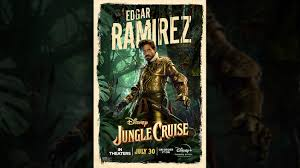 Based on disneyland's theme park ride where a small riverboat takes a group of travelers through a jungle filled with dangerous animals and reptiles but with a supernatural element. Jungle Cruise Disney Movies