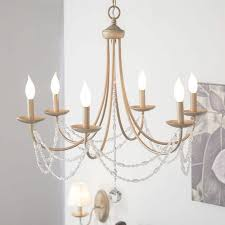 reynal 6 light candle style chandelier reviews birch lane have to do with candle