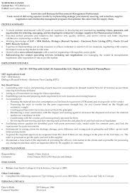Supply Chain Management Resume Simple Resume Maker Reddit Management Cover Letter Procurement Account