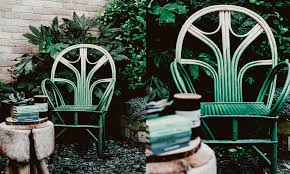 how to paint your garden furniture