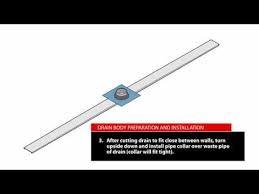 linear drain retrofitdrain doesn t require recessing