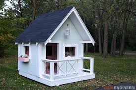 backyard clubhouse plans absolutely smart 4 outdoor playhouse plans best