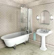 interior acrylic clawfoot tub with glass shower enclosure csetcclawfoot glamorous pleasant 6 clawfoot tub