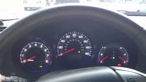 Acura Tl Dash Lights 2008 Acura Tl Dash Lights Turning On Off