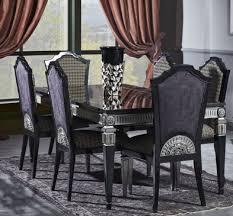 Casa Padrino Luxus Barock Esszimmer Set Esstisch Und 6 Esszimmerstühle Esszimmermöbel Im Barockstil