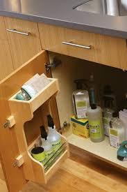 full image for under kitchen sink organizer ideas under the sink cabinet storage for cleaning supplies