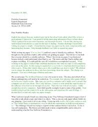 Portfolio Cover Letter Example Writing Portfolio Cover Letter Example