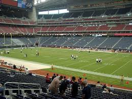 Nrg Stadium View From Lower Level 123 Vivid Seats