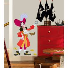 Pirate Bedroom Decorating Bedroom Playroom Decoration With Pirate Theme Using Red Cabinet