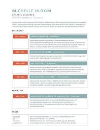 Modern Resume Templates 64 Examples Free Download Modern Resume