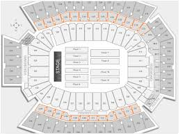 Lincoln Financial Field Seating Chart Rolling Stones Lincoln Financial Field Concert Seating Chart