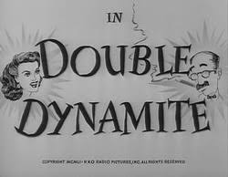 Image result for Double Dynamite 1951