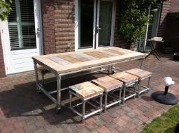 steel garden furniture clever ideas
