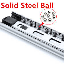 22 Inches Drawer slide rail keyboard slide rail stainless steel