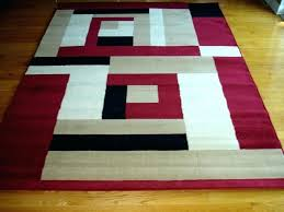 modern red rugs red black white rug beige and white area rug stunning modern red black