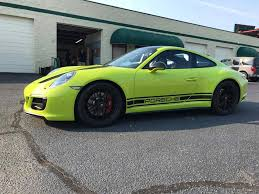 2018 porsche 911 vehicle wrap