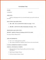 Writing A Resume With No Experience Resume No Work Experience Moa Format 20