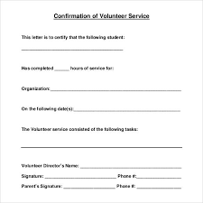 22 Community Service Letters To Download For Free Sample Templates