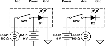 switches illuminated rocker switch different wirings electrical schematic