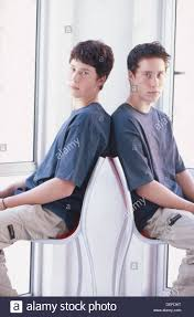 Boy model teen twin