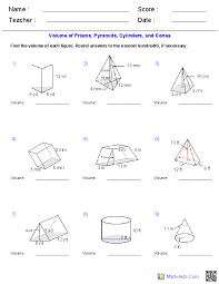 You need to convert your string radius to a float or double. Geometry Worksheets Surface Area Volume Worksheets