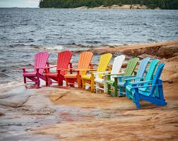 c r plastic adirondack chairs provide real wood look and feel