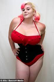 Big boobs hourglass figure photo