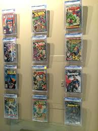comic book shelf display comic book display ideas storage wall rack diy comic book display shelf