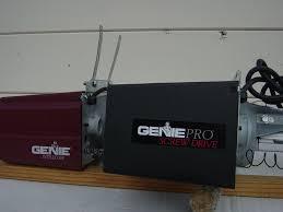 genie pro max garage door opener programming