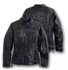 harley davidson women eclipse triple vent waterproof leather jacket 98069 14vw s