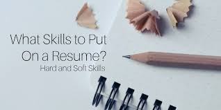 what skills to put on a resume examples skills resume examples
