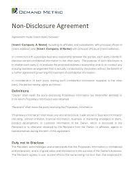 Mutual Confidentiality Agreement Impressive Nda Form Template Non Disclosure Mutual Nda Form Template